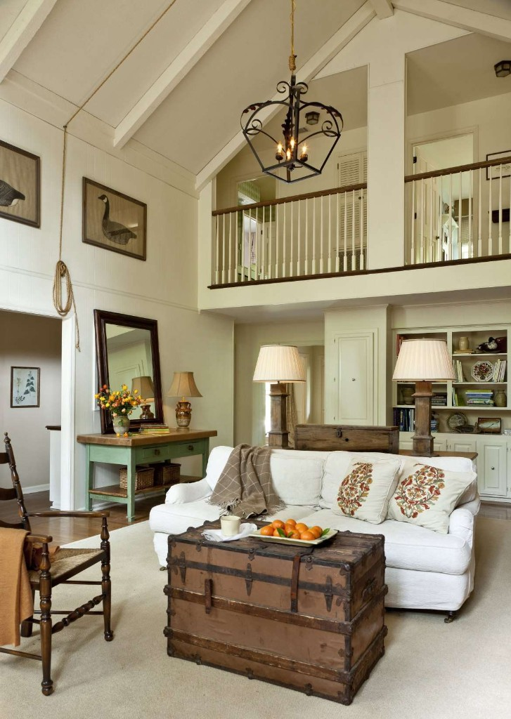 Rustic Family Residence K Lewis Interior Design