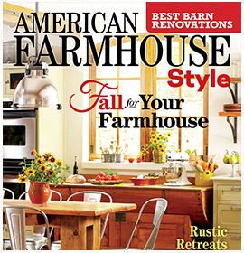 American Farmhouse Style - Fall 2017 by Krista Lewis interior design