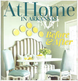 At Home Magazine - The Before and after - May 2016 by Krista Lewis interior design