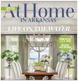At Home Magazine - River Views - July 2017 by Krista Lewis interior design