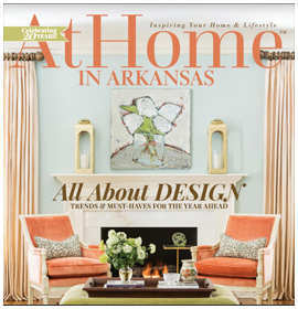 At Home Magazine - Southern Classic - January/ February 2017 by Krista Lewis interior design